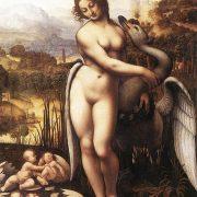 Leonardo Da Vinci's Leda & Swan