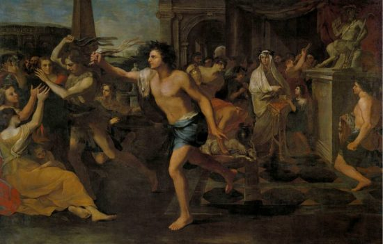 Painting-festival-of-Lupercalia