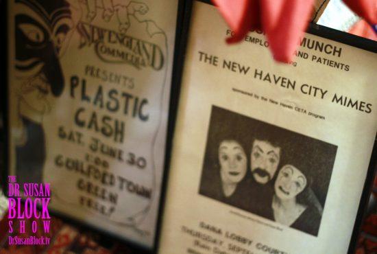 Plastic Cash & New Haven City Mimes. Photo: Bianca