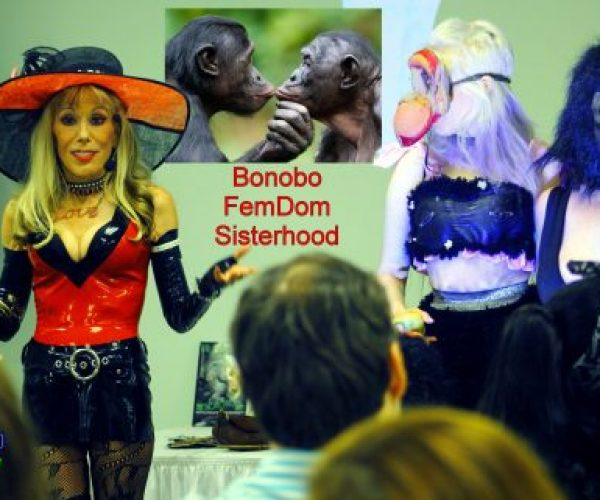 "The Bonobo Way Coming to AASECT in Philly! Amazing DomCon 2019! Bonobo Gay Pride! Dr. Suzy Crushes Rush Limp Balls! New Shows Playing Free on DrSuzy.Tv! Dr. Suzy on ""Sex in the Pews""! Need to Talk Privately about Religious Abuse, Cuckolding, Fetishes or Anything Else? Call Our Therapists Without Borders Anytime!"