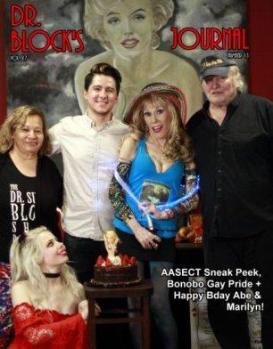 AASECT Sneak Peek, Bonobo Gay Pride + Happy Bday Abe & Marilyn!