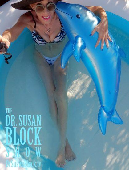 """Dolphin Sex"" pre-show selfie"