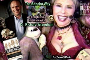 Dr. Richard Wrangham on The Dr. Susan Block Show: 1996 Live Interview on Bonobos & The Bonobo Way